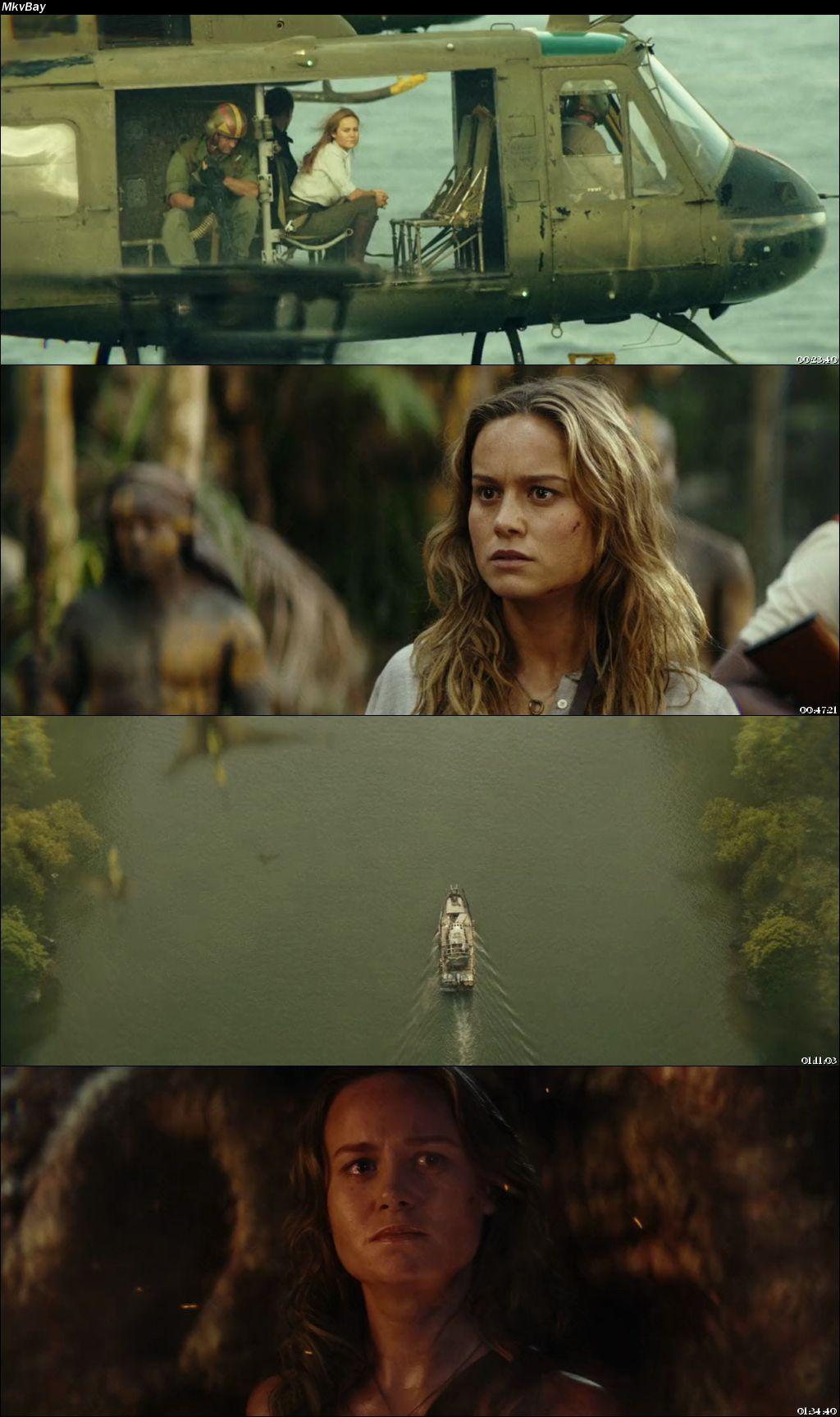 Screen Shoot of Kong: Skull Island 2017 Full Hindi Dual Audio Movie Download BluRay 720p