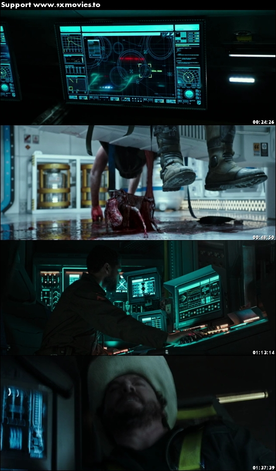 Alien Covenant 2017 Dual Audio ORG Hindi 480p BluRay 350mb
