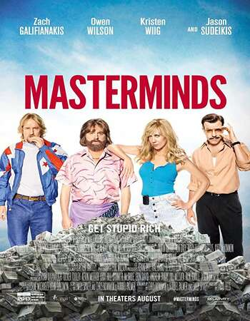 Masterminds 2016 Hindi Dual Audio BRRip Full Movie 720p Download