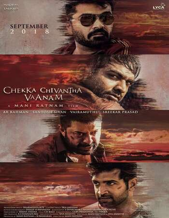 Chekka Chivantha Vaanam 2018 UNCUT Hindi Dual Audio HDRip Full Movie 720p HEVC Download