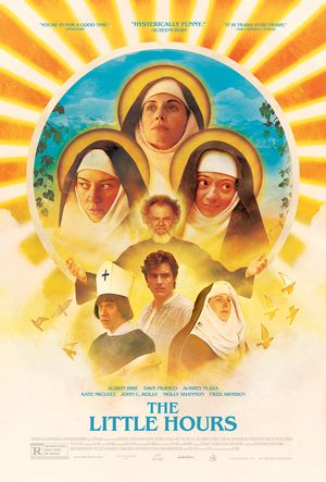 Poster of The Little Hours 2017 Full Hindi Dual Audio Movie Download BluRay 720p