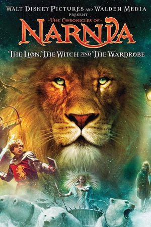 Poster of The Chronicles of Narnia 2005 Full Hindi Dual Audio Movie Download BluRay 720p
