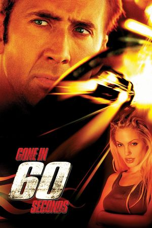 Poster of Gone in 60 Seconds 2000 Full Hindi Dual Audio Movie Download BluRay 720p