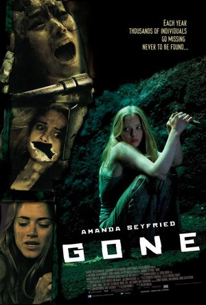 Poster of Gone 2012 Full Hindi Dual Audio Movie Download BluRay 720p