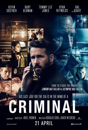 Criminal 2016 720p BRRip In Hindi Dubbed Dual Audio Download
