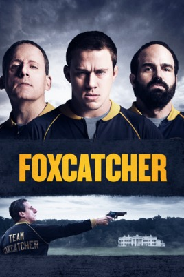Poster of Foxcatcher 2014 Full Hindi Dual Audio Movie Download BluRay 720p