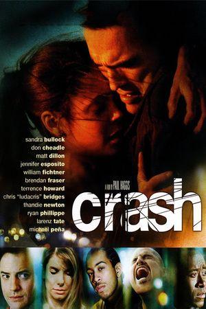 Poster of Crash 2004 Full Hindi Dual Audio Movie Download BluRay 720p