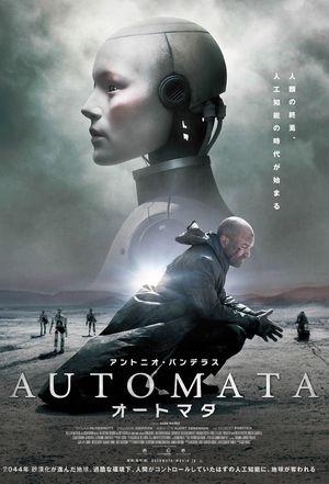 Poster of Automata 2014 Full Hindi Dual Audio Movie Download BluRay 720p