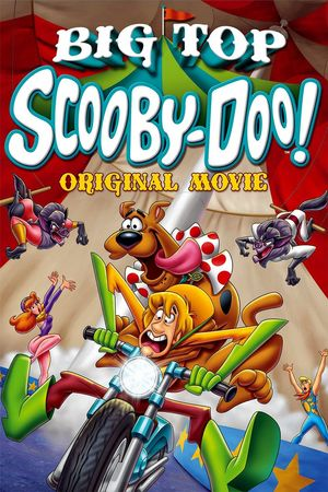 Poster of Big Top Scooby-Doo! 2012 Full Hindi Dual Audio Movie Download BluRay 720p