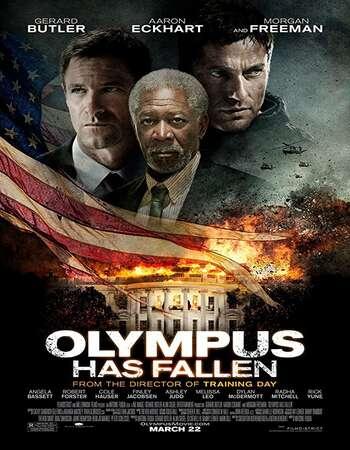 Olympus Has Fallen 2013 Hindi Dual Audio BRRip Full Movie 720p Download