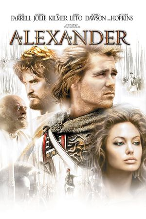 Poster of Alexander 2004 Full Hindi Dual Audio Movie Download BluRay 720p