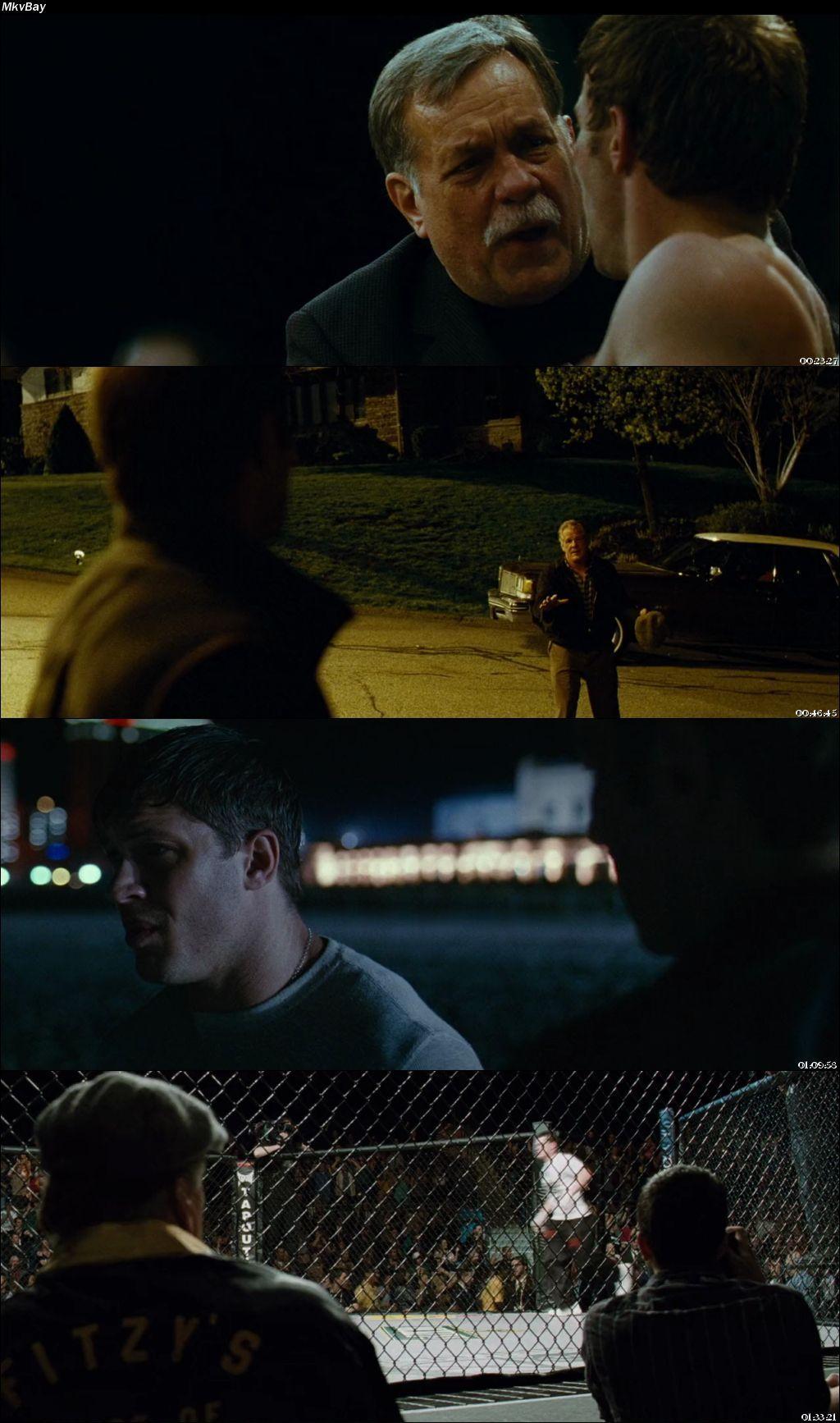 Screen Shoot of Warrior 2011 Full English Movie Download BluRay 720p