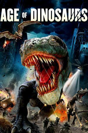 Poster of Age of Dinosaurs 2013 Full Hindi Dual Audio Movie Download BluRay 720p
