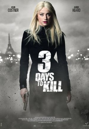 Poster of 3 Days to Kill 2014 Full Hindi Dual Audio Movie Download BluRay 720p