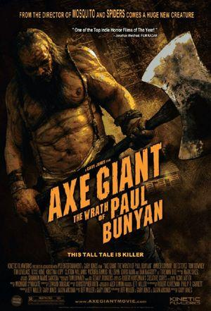 Poster of Axe Giant The Wrath of Paul Bunyan 2013 Full Hindi Dual Audio Movie Download BluRay 720p