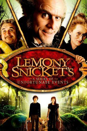 Poster of Lemony Snicket's A Series of Unfortunate Events 2004 Full Hindi Dual Audio Movie Download BluRay 720p