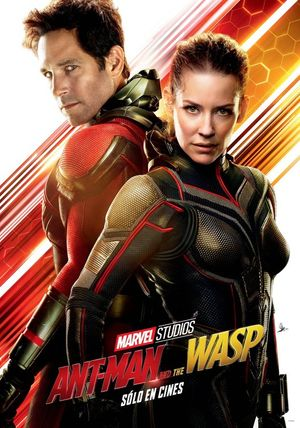 Poster of Ant-Man and the Wasp 2018 Full Hindi Dual Audio Movie Download BluRay 720p