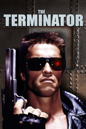 Poster of The Terminator 1984 Full Hindi Dual Audio Movie Download BluRay 720p