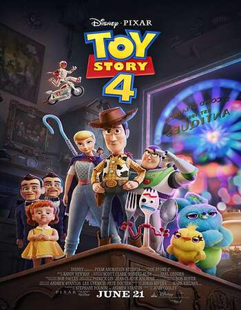 Toy Story 4 2019 Hindi ORG Dual Audio 550MB BluRay 720p ESubs HEVC