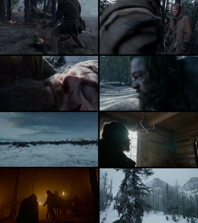 The Revenant 2015 English 480p BRRip