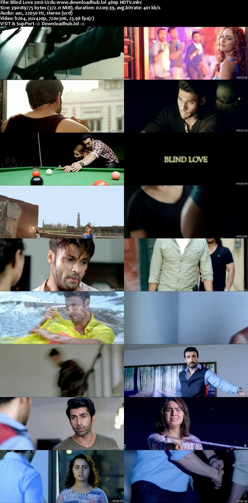 Blind Love 2016 Urdu 350MB HDTV 480p