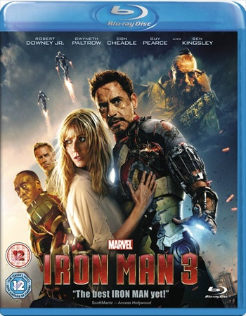 Iron Man 3 (2013) Dual Audio Hindi Bluray Download