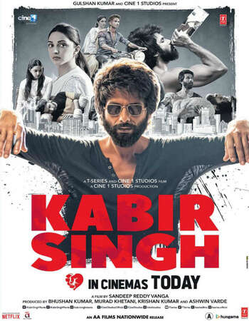 Kabir Singh 2019 Full Hindi Movie 720p HDRip Download