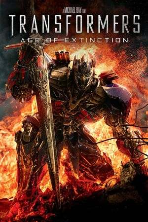 Poster of Transformers: Age of Extinction 2014 Full Hindi Dual Audio Movie Download BluRay 720p