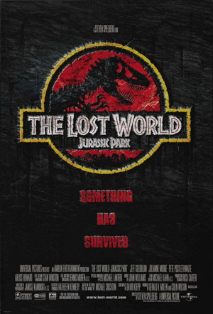 Poster of The Lost World: Jurassic Park 1997 Full Hindi Dual Audio Movie Download BluRay 720p