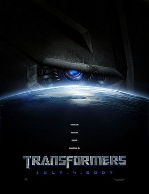 Poster of Transformers 2007 Full Hindi Dual Audio Movie Download BluRay 720p