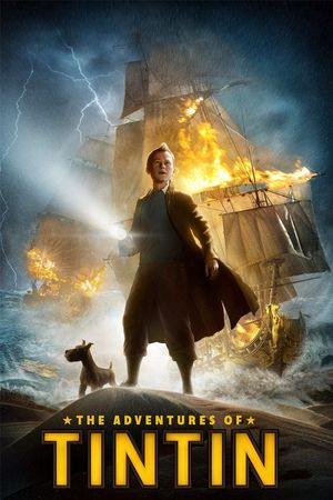Poster of The Adventures of Tintin 2011 Full Hindi Dual Audio Movie Download BluRay 720p