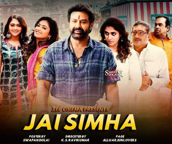 Jai Simha 2019 Hindi Dubbed 720p HDTV 1GB