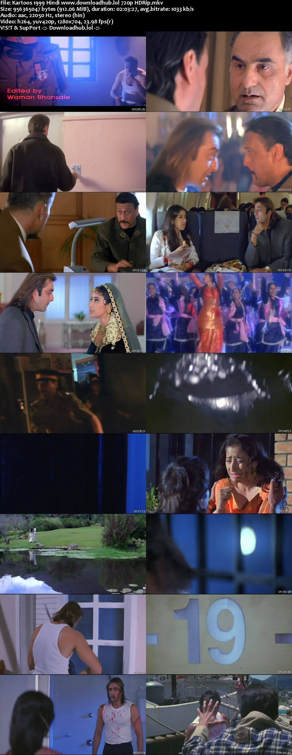 Kartoos 1999 Hindi 720p HDRip x264