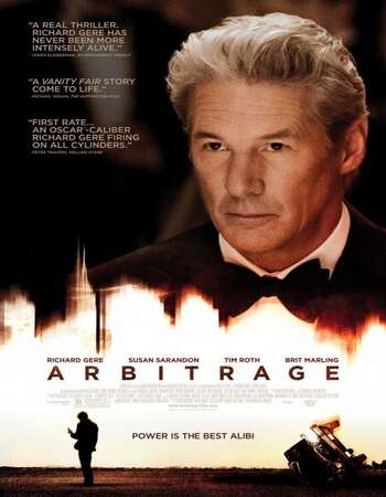 Arbitrage 2012 Hindi Dual Audio BRRip Full Movie 300mb Download