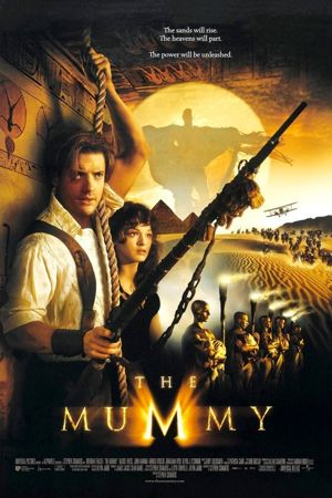 Poster of The Mummy 1999 Full Hindi Dual Audio Movie Download BluRay 720p