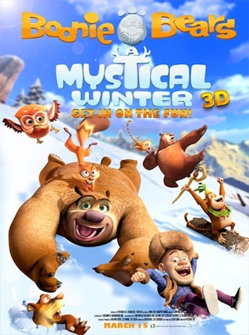 Boonie Bears Mystical Winter 2015 Dual Audio Hindi 720p BluRay 800mb