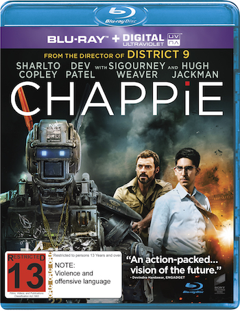 Chappie 2015 Dual Audio Hindi 720p BluRay 950mb
