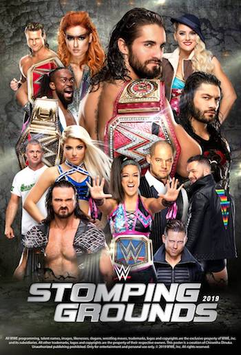 WWE Stomping Grounds 2019 PPV WEBRip 720p 480p x264 750MB