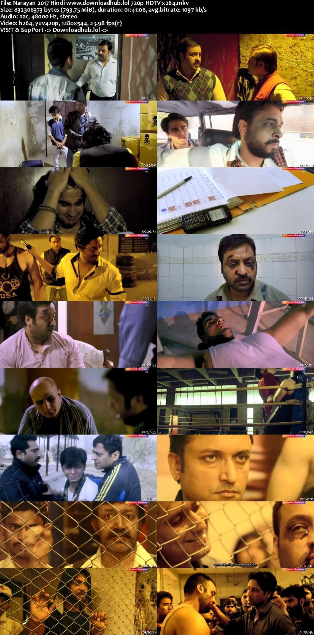 Narayan 2017 Hindi 720p HDTV x264