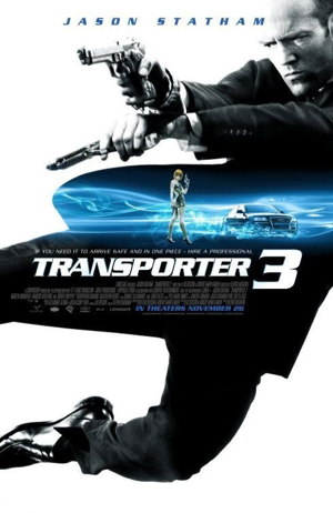 Poster of Transporter 3 2008 Full Hindi Dual Audio Movie Download BluRay 720p