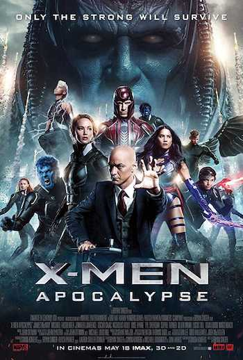 X-Men Apocalypse 2016 Dual Audio Hindi Full Movie Download