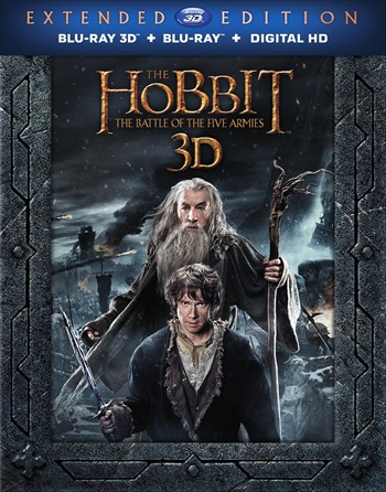 The Hobbit The Battle of The Five Armies 2014 Extended Dual Audio Hindi 480p BluRay 500MB