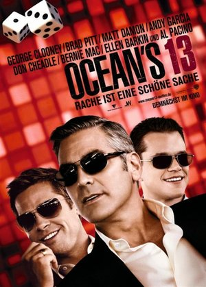 Poster of Ocean's Thirteen 2007 Full Hindi Dual Audio Movie Download BluRay 720p