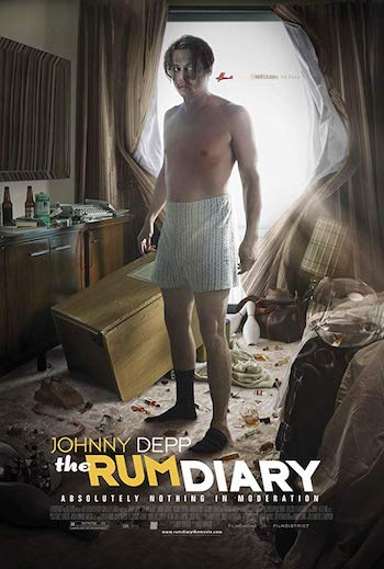 The Rum Diary 2011 Dual Audio Hindi 720p BluRay 1GB