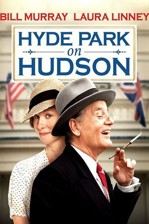 Poster of Hyde Park on Hudson 2012 Full Hindi Dual Audio Movie Download BluRay 720p