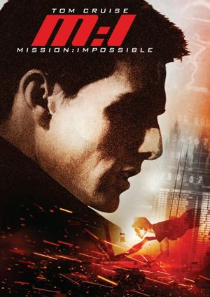 Poster of Mission: Impossible 1996 Full Hindi Dual Audio Movie Download BluRay 720p