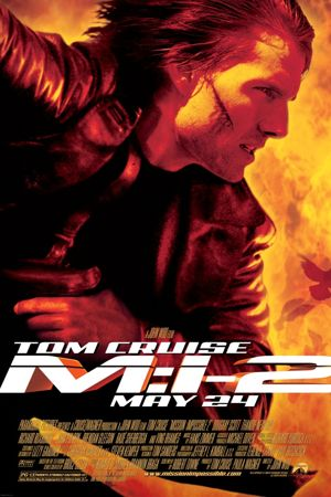Poster of Mission: Impossible 2 2000 Full Hindi Dual Audio Movie Download BluRay 720p
