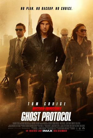 Poster of Mission Impossible: Ghost Protocol 2011 Full Hindi Dual Audio Movie Download BluRay 720p