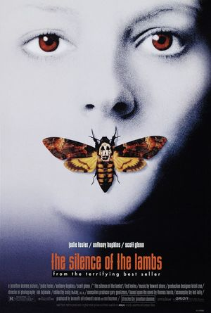 Poster of The Silence of the Lambs 1991 Full Hindi Dual Audio Movie Download BluRay 720p