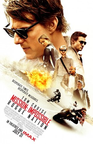 Poster of Mission: Impossible – Rogue Nation 2015 Full Hindi Dual Audio Movie Download BluRay 720p